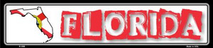 Florida State Outline Wholesale Novelty Metal Vanity Small Street Signs K-308