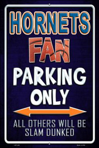 Hornets Wholesale Metal Novelty Large Parking Sign LGP-249