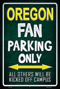 Oregon Wholesale Metal Novelty Large Parking Sign LGP-293