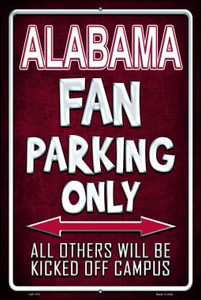 Alabama Wholesale Metal Novelty Large Parking Sign LGP-270
