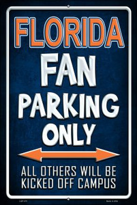 Florida Wholesale Metal Novelty Large Parking Sign LGP-275
