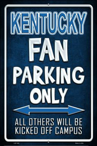 Kentucky Wholesale Metal Novelty Large Parking Sign LGP-280