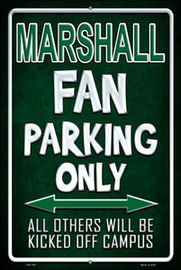 Marshall Wholesale Metal Novelty Large Parking Sign LGP-283