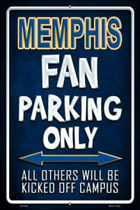 Memphis Wholesale Metal Novelty Large Parking Sign LGP-284