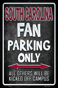 South Carolina Wholesale Metal Novelty Large Parking Sign LGP-295