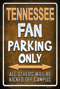 Tennessee Wholesale Metal Novelty Large Parking Sign LGP-296
