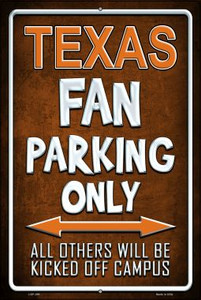 Texas Wholesale Metal Novelty Large Parking Sign LGP-298
