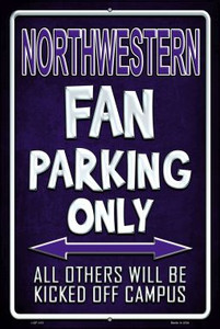 Northwestern Wholesale Metal Novelty Large Parking Sign LGP-310