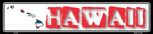 Hawaii State Outline Wholesale Novelty Metal Vanity Small Street Signs K-310