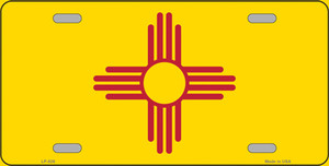 New Mexico State Flag Wholesale Metal Novelty License Plate LP-526