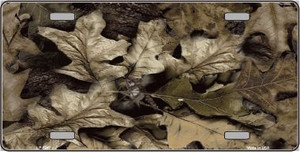 Leaf Camouflage Wholesale Metal Novelty License Plate LP-5267