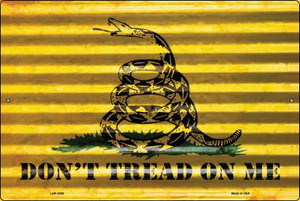 Don't Tread On Me Wholesale Novelty Large Parking Sign LGP-2305