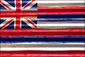 Hawaii Flag Wholesale Novelty Large Parking Sign LGP-2325