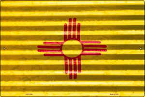 New Mexico Flag Wholesale Novelty Large Parking Sign LGP-2345