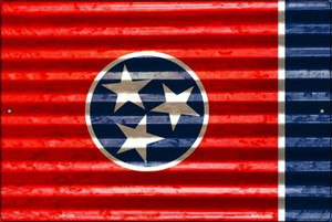 Tennessee Flag Wholesale Novelty Large Parking Sign LGP-2356