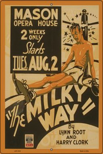 The Milky Way Vintage Poster Wholesale Large Parking Sign LGP-1910