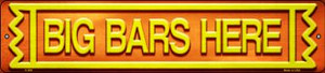 Big Bars Here Wholesale Novelty Metal Small Street Signs K-898