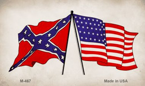 Confederate / USA Wholesale Novelty Metal Magnet M-467