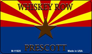 Whiskey Row Prescott Arizona Wholesale Novelty Metal Magnet M-11920