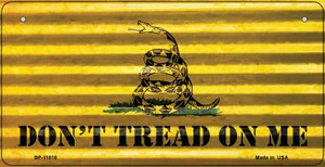 Dont Tread On Me Corrugated Wholesale Novelty Metal BP-11810