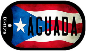 Agunda Puerto Rico State Flag Wholesale Novelty Metal Dog Tag Necklace DT-11316