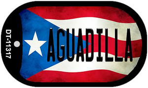Aguadilla Puerto Rico State Flag Wholesale Novelty Metal Dog Tag Necklace DT-11317