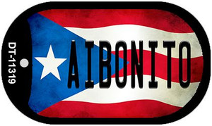 Aibonito Puerto Rico State Flag Wholesale Novelty Metal Dog Tag Necklace DT-11319