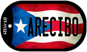 Arecibo Puerto Rico State Flag Wholesale Novelty Metal Dog Tag Necklace DT-11321