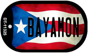 Bayamon Puerto Rico State Flag Wholesale Novelty Metal Dog Tag Necklace DT-11325
