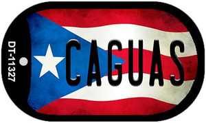 Caguas Puerto Rico State Flag Wholesale Novelty Metal Dog Tag Necklace DT-11327
