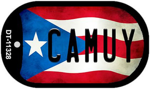 Camuy Puerto Rico State Flag Wholesale Novelty Metal Dog Tag Necklace DT-11328