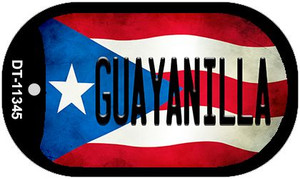 Guayanilla Puerto Rico State Flag Wholesale Novelty Metal Dog Tag Necklace DT-11345