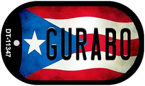 Gurabo Puerto Rico State Flag Wholesale Novelty Metal Dog Tag Necklace DT-11347