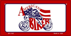 American Biker Wholesale Novelty Metal Bicycle Plate BP-1142