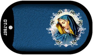 Virgin Mary Wholesale Novelty Metal Dog Tag Necklace DT-7807