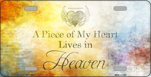 Lives In Heaven Wholesale Novelty Metal License Plate LP-11883