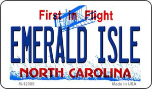 Emerald Island North Carolina State Wholesale Novelty Metal Magnet M-12085