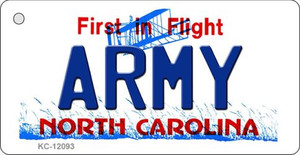 Army North Carolina State Wholesale Novelty Metal Key Chain KC-12093