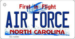Air Force North Carolina State Wholesale Novelty Metal Key Chain KC-12096