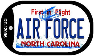 Air Force North Carolina State Wholesale Novelty Metal Dog Tag Necklace DT-12096