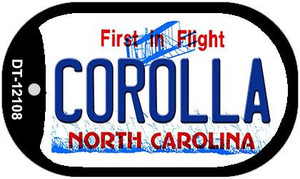 Corolla North Carolina State Wholesale Novelty Metal Dog Tag Necklace DT-12108