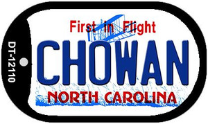 Chowan North Carolina State Wholesale Novelty Metal Dog Tag Necklace DT-12110
