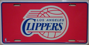 Los Angeles Clippers Wholesale Metal Novelty License Plate LP-667