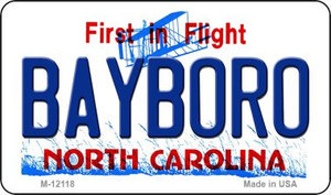 Bayboro North Carolina State Wholesale Novelty Metal Magnet M-12118
