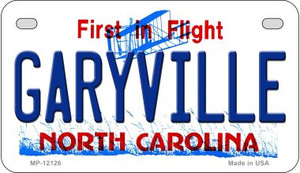 Garyville North Carolina State Wholesale Novelty Metal Motorcycle Plate MP-12126