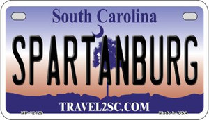Spartanburg South Carolina State Wholesale Novelty Metal Motorcycle Plate MP-12129