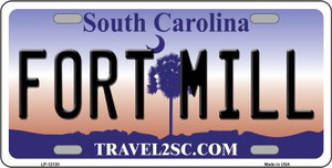 Fort Mill South Carolina State Wholesale Novelty Metal License Plate LP-12130