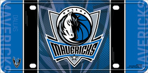 Dallas Mavericks Wholesale Metal Novelty License Plate LP-681