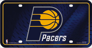 Indiana Pacers Wholesale Metal Novelty License Plate LP-687