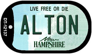 Alton New Hampshire Wholesale Novelty Metal Dog Tag Necklace DT-12137